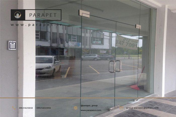 درب شیشه سکوریت