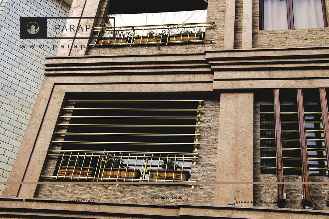 حفاظ استیل پنجره و تراس