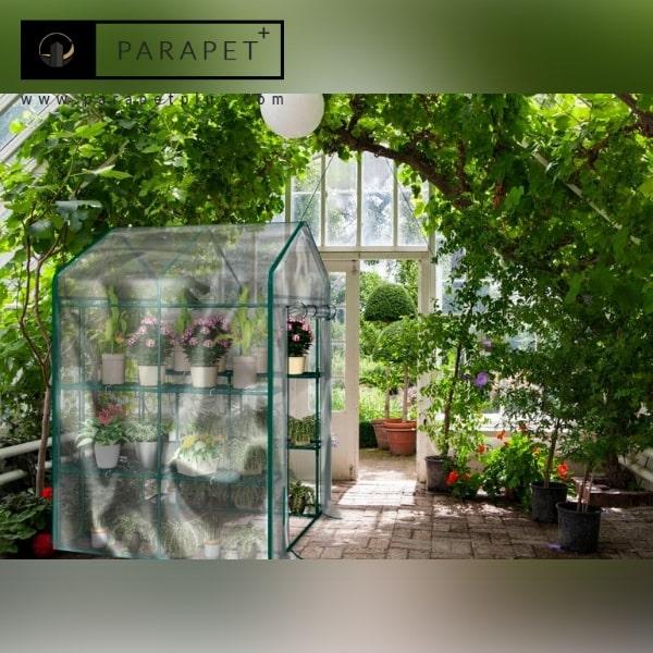 ویژگی های گلخانه شیشه ای
