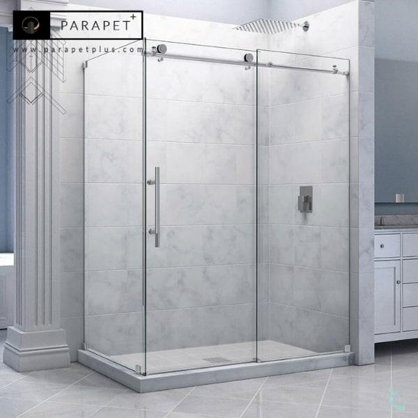 کابین دوش شیشه ای حمام