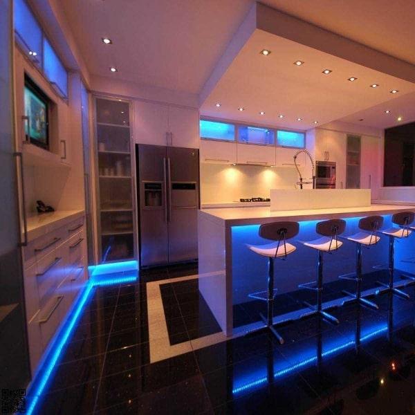نور پردازی در طراحی داخلی مدرن