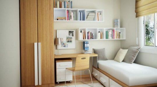دکوراسیون اتاق خواب کوچک جذاب